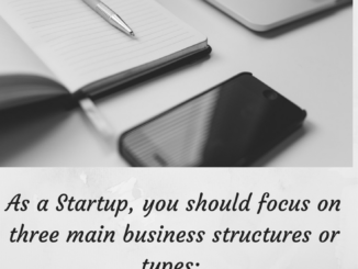 Business structure for startups